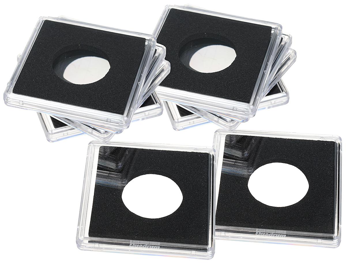 "Капсулы для монет Leuchtturm ""Quadrum"", диаметр 23 мм, 10 шт"