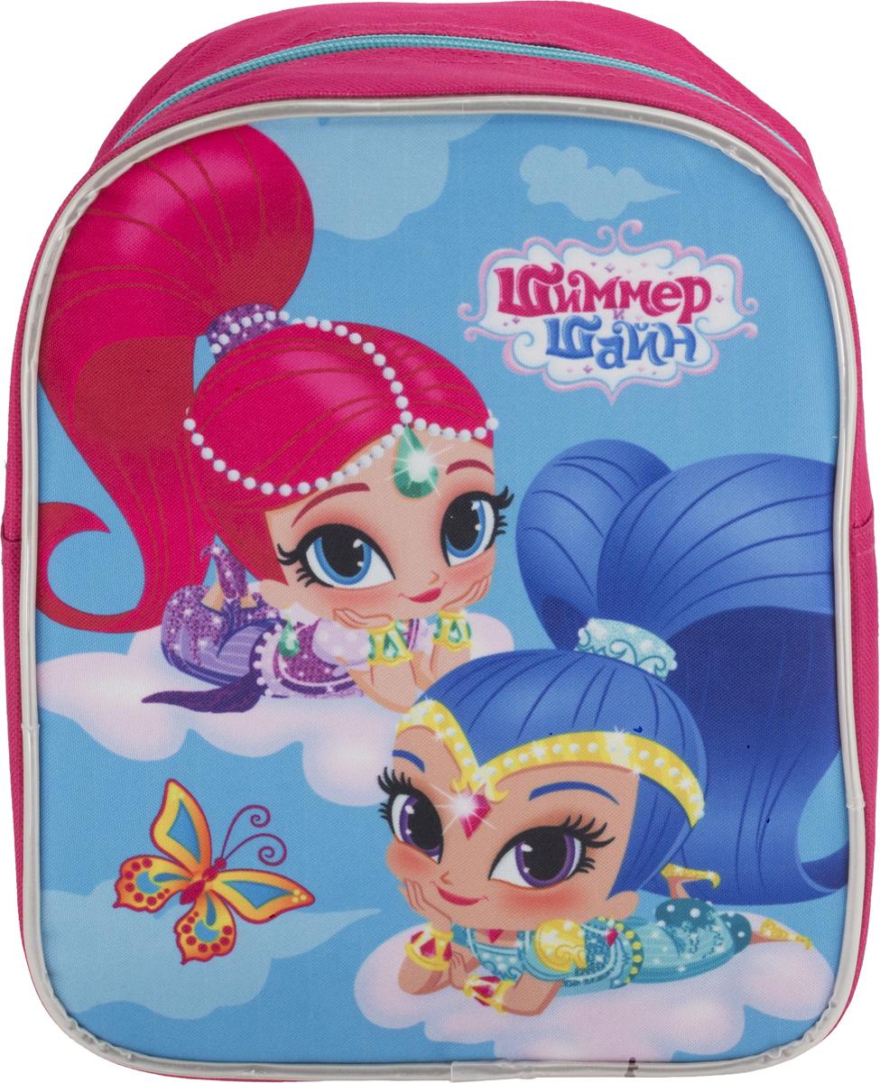 Shimmer & Shine Рюкзак дошкольный цвет розовый голубой SSFP-UT1-975s