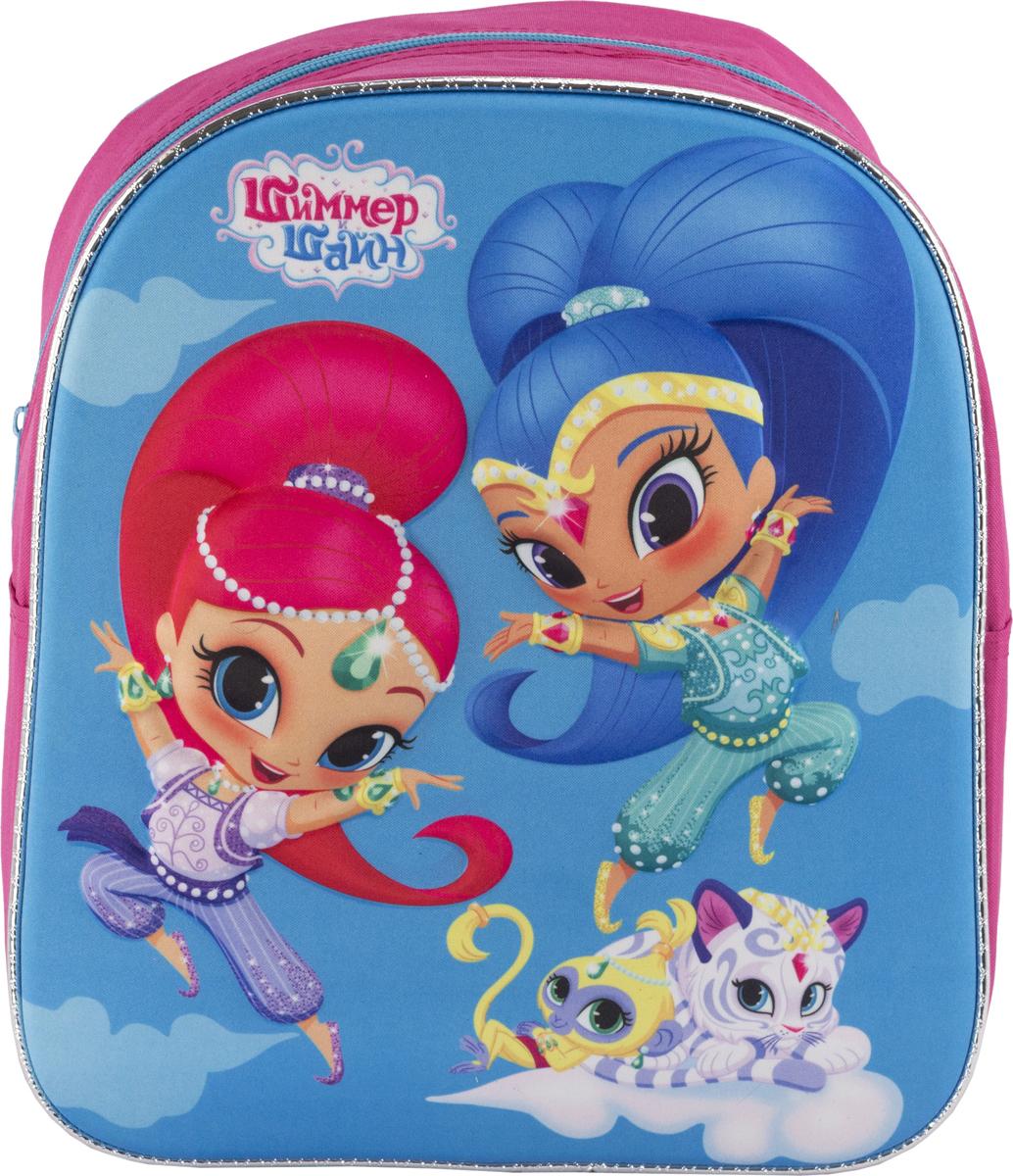 Shimmer & Shine Рюкзак дошкольный цвет розовый голубой SSFP-UT1-E195