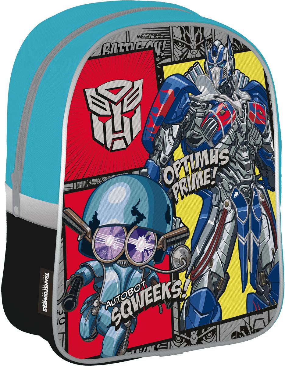 Transformers Рюкзак дошкольный цвет серый голубой TRFP-UT1-E195