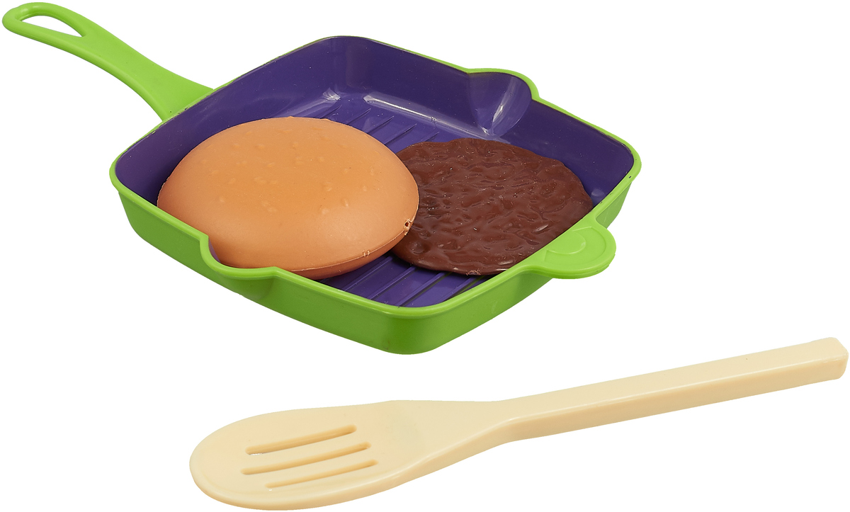 ABtoys Игровой набор Посуда  продукты 4 предмета вид 2