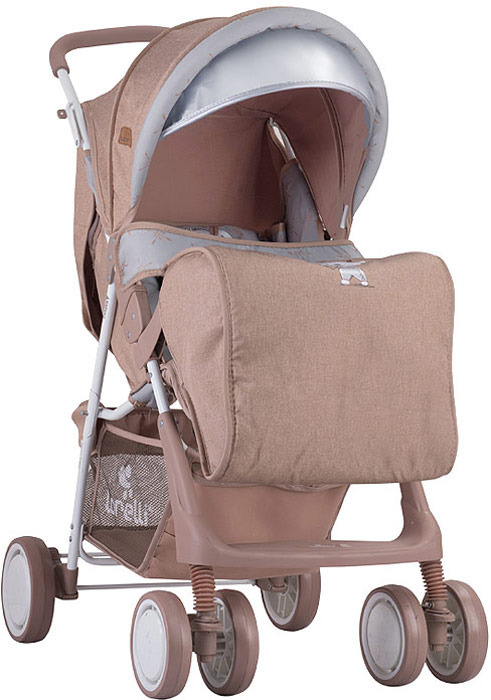 Lorelli Прогулочная коляска Terra Indian Bear цвет бежевый серый