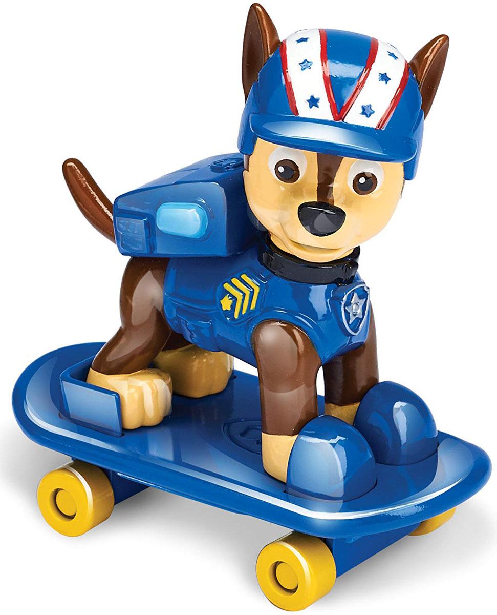 Paw Patrol Фигурка Marshall Chase со скейтбордом цвет синий paw patrol фигурка marshall 16612 20078994