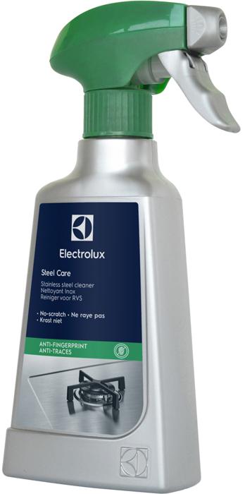 Чистящее средство для поверхностей из нержавеющей стали Electrolux, спрей, 250 мл glorix чистящее средство для пола деликатные поверхности 1л