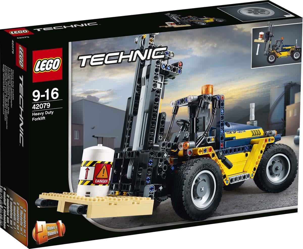 LEGO Technic 42079 Сверхмощный вилочный погрузчик Конструктор lego technic 42079 конструктор лего техник сверхмощный вилочный погрузчик