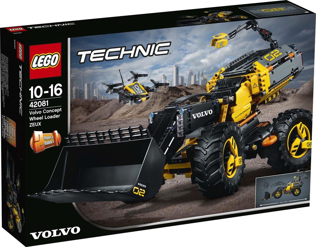 LEGO Technic 42081 Колесный погрузчик Volvo Конструктор цена 2017