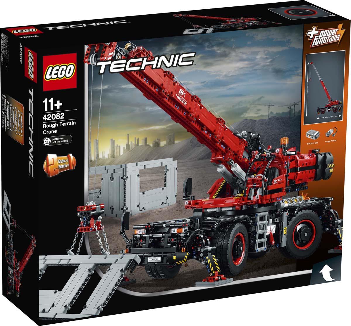 LEGO Technic 42082 Подъемный кран Конструктор