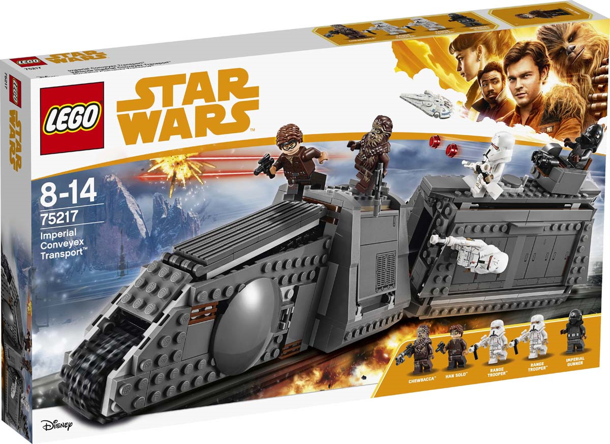 LEGO Star Wars 75217 Имперский транспорт Конструктор daughtry daughtry it s not over the hits so far