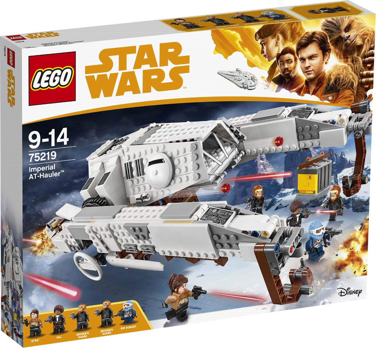 LEGO Star Wars 75219 Имперский шагоход-тягач Конструктор