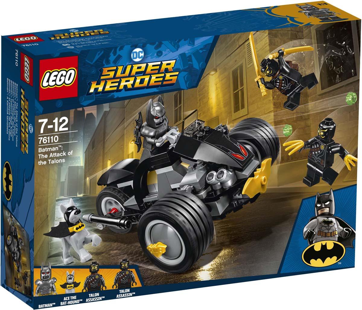 LEGO Super Heroes DC 76110 Бэтмен Нападение Когтей Конструктор фонарь lego dc super heroes joker