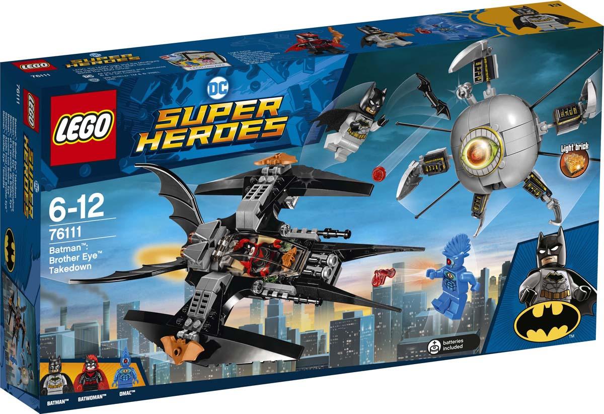 LEGO Super Heroes DC 76111 Бэтмен Ликвидация Глаза брата Конструктор цена и фото