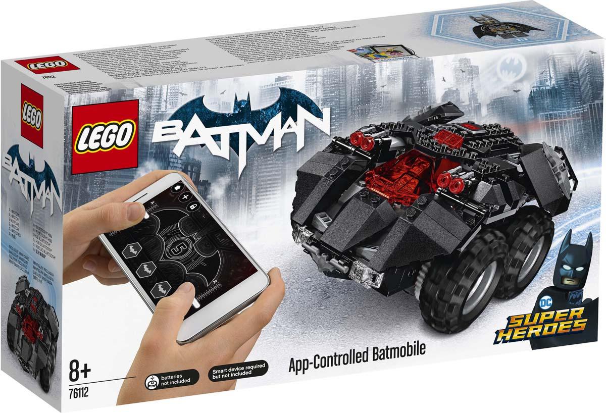 цена LEGO Super Heroes DC 76112 Бэтмобиль с дистанционным управлением Конструктор онлайн в 2017 году