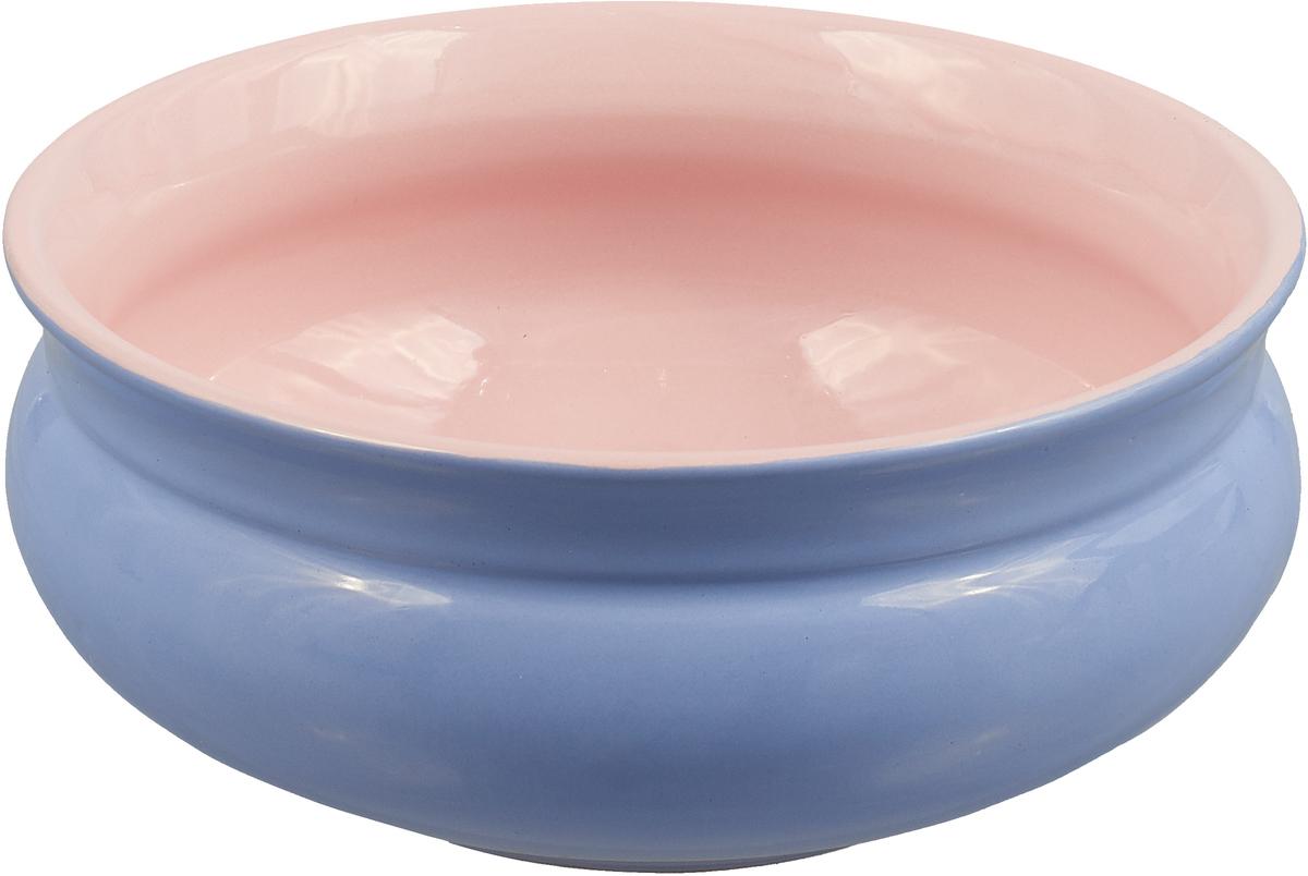 Тарелка глубокая Борисовская керамика Скифская, цвет: сиреневый, розовый, 800 мл скейтборд четырёхколёсный ridex vulcan 60x45 мм серый ут 00009655