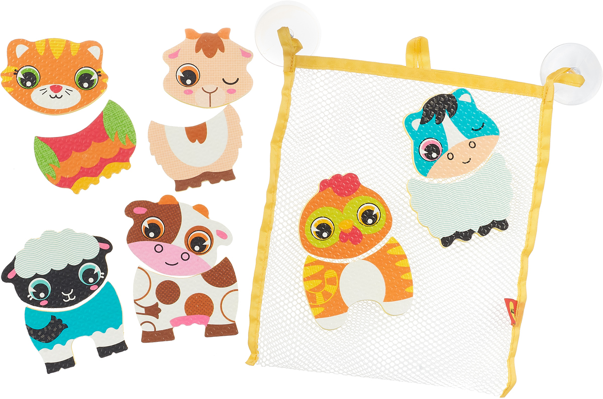 Alex Игрушка для ванной Веселые животные