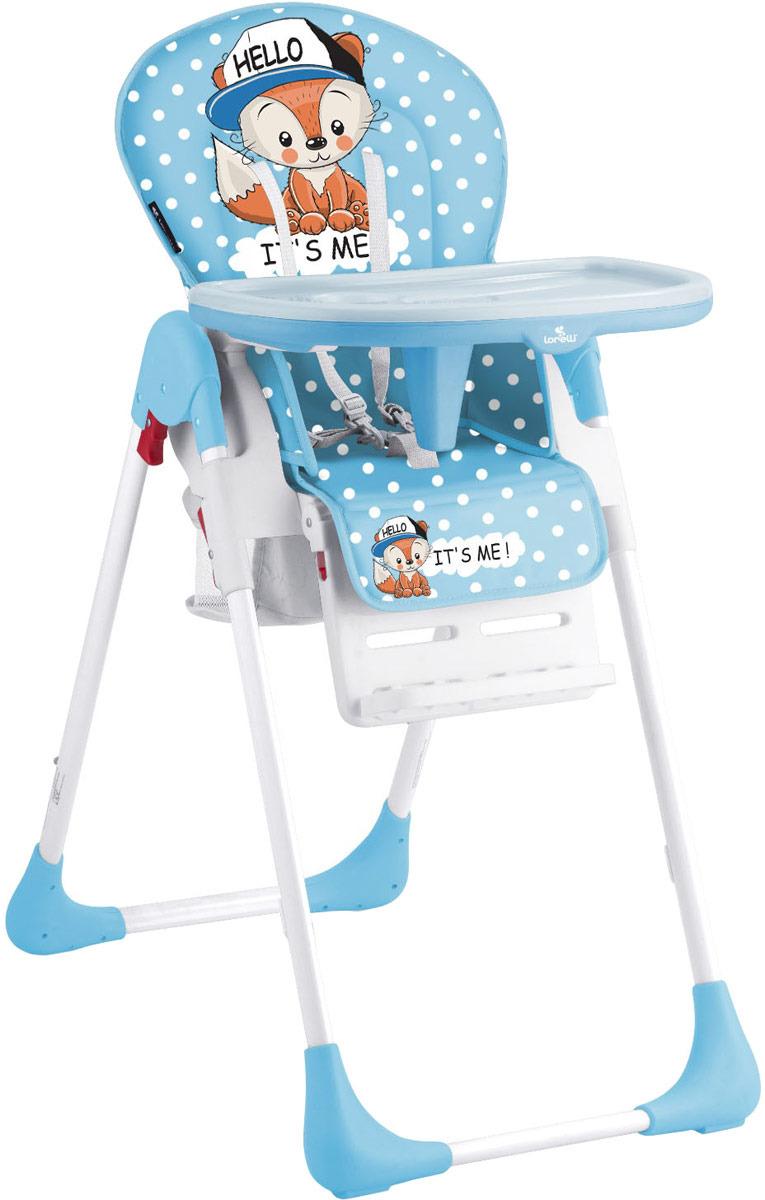 Lorelli Стульчик для кормления Tutti Frutti Baby Fox цвет синий