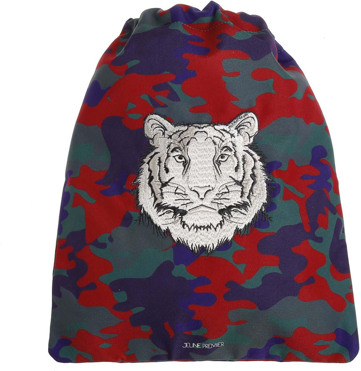 Сумка для сменной обуви и одежды Jeune Premier Тигр, 35,5 х 43 см цена