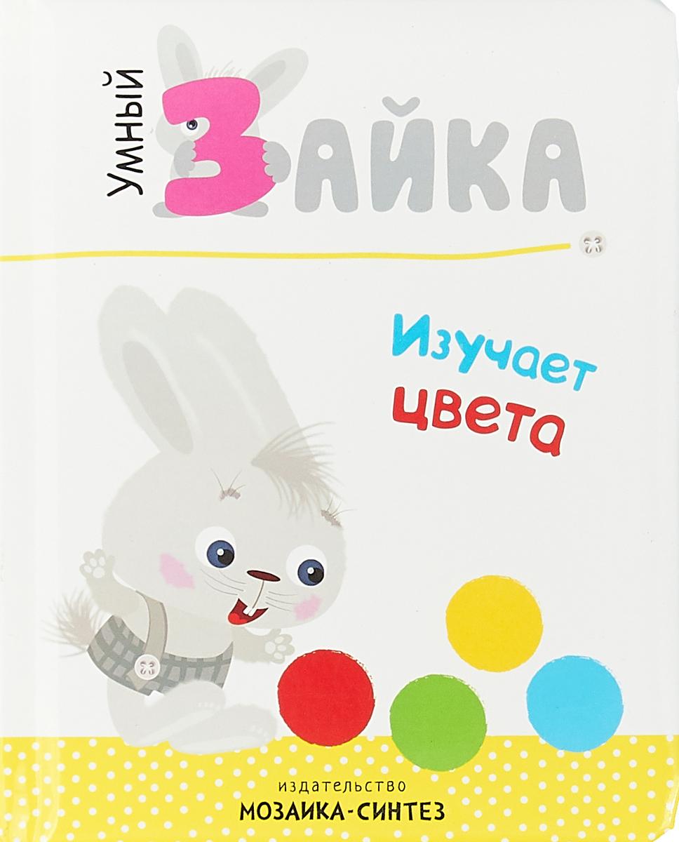 Фото - Умный зайка изучает цвета книжка с наклейками умный зайка я играю