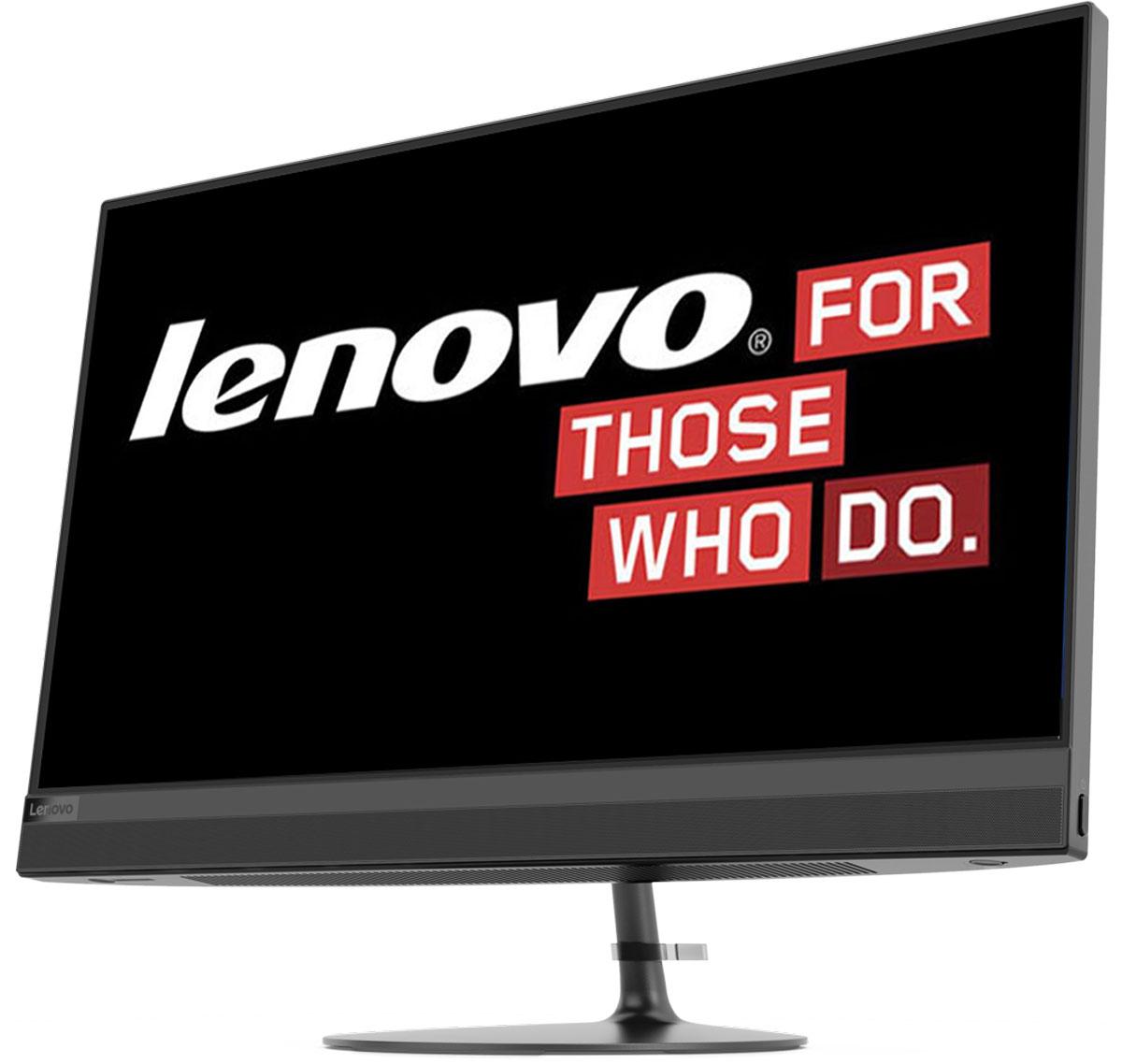 Моноблок Lenovo IdeaCentre 520-24IKU, F0D2009ERK, 23.8, черный lenovo 520 24iku black f0d2000erk