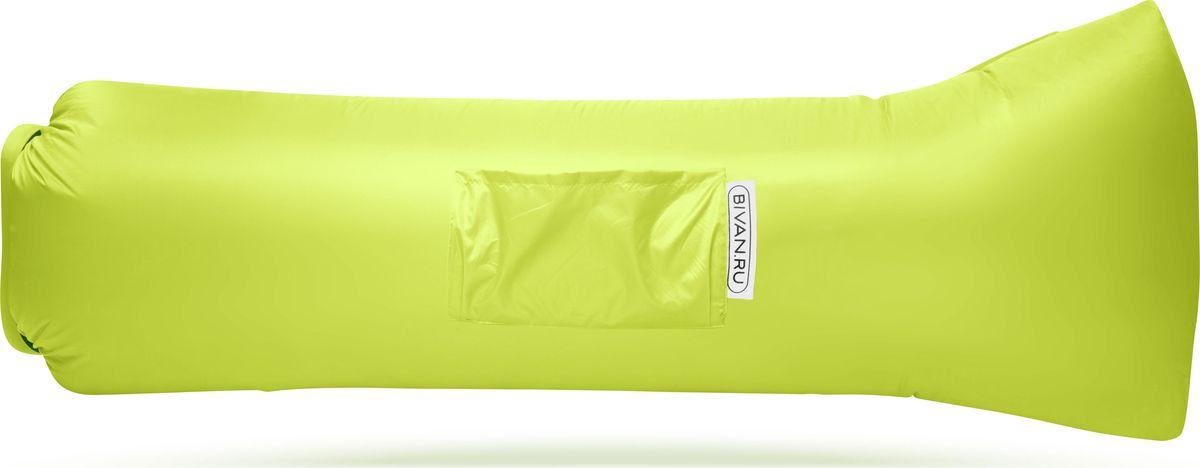 """Диван надувной """"Биван 2.0"""", цвет: лимонный, 190 х 90 см"""