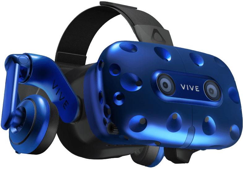 HTC Vive Pro EEA HMD, Blue шлем виртуальной реальности очки виртуальной реальности htc vive pro eea htc 99hanw006 00