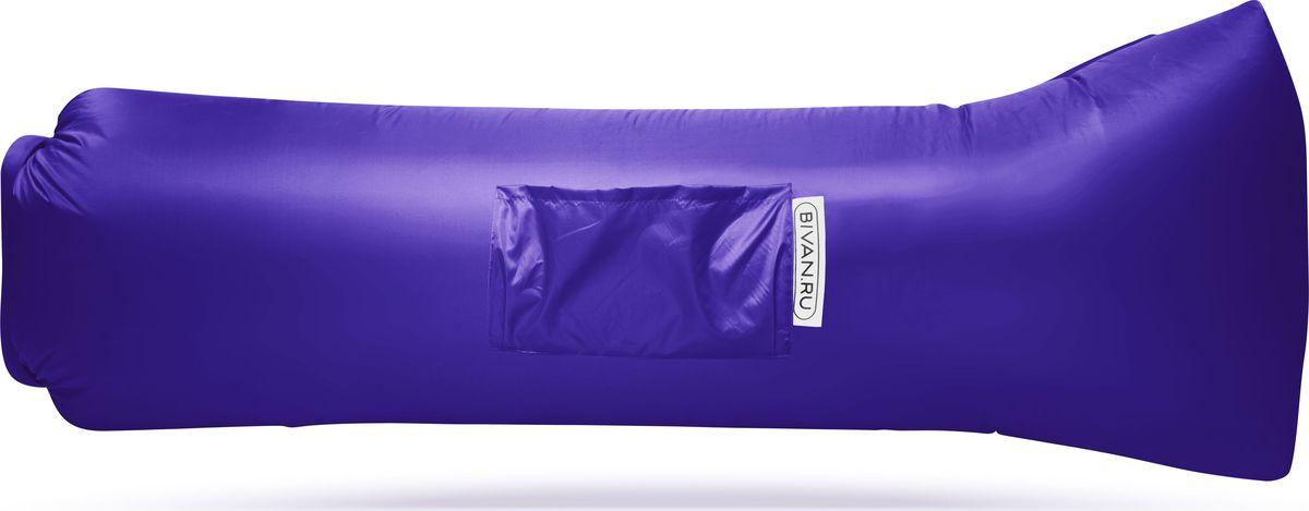 Диван надувной Биван 2.0, цвет: фиолетовый, 190 х 90 см календарь шорт на 2019г сгпоросёнок в цветах 31 42см на спирали