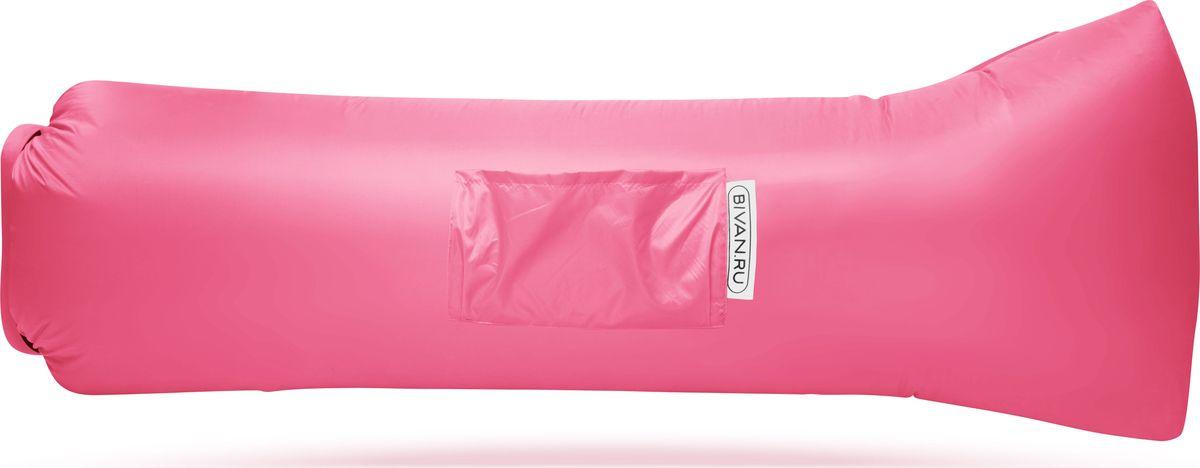 """Диван надувной """"Биван 2.0"""", цвет: розовый, 190 х 90 см"""