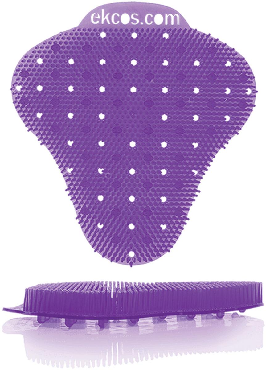 """Коврики-вставки для писсуара Ekcos """"Ягода"""", цвет: пурпурный, 2 шт. EKS-1P"""