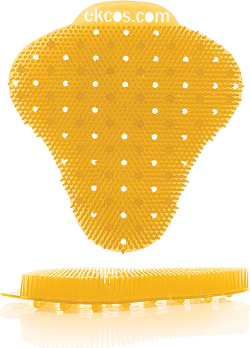 """Коврики-вставки для писсуара Ekcos """"Апельсин"""", цвет: оранжевый, 2 шт. 604659"""