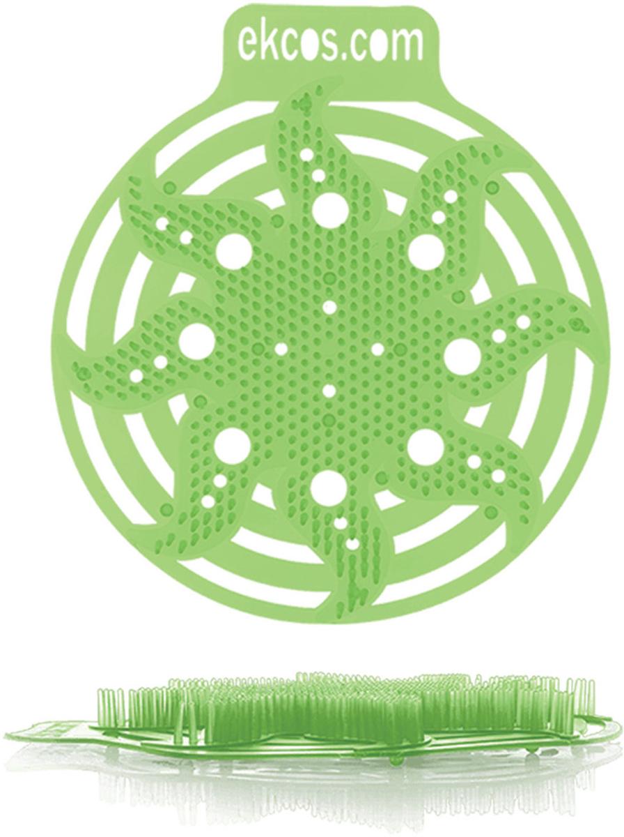 """Коврики-вставки для писсуара Ekcos """"Яблоко"""", цвет: салатовый, 2 шт. 604660"""