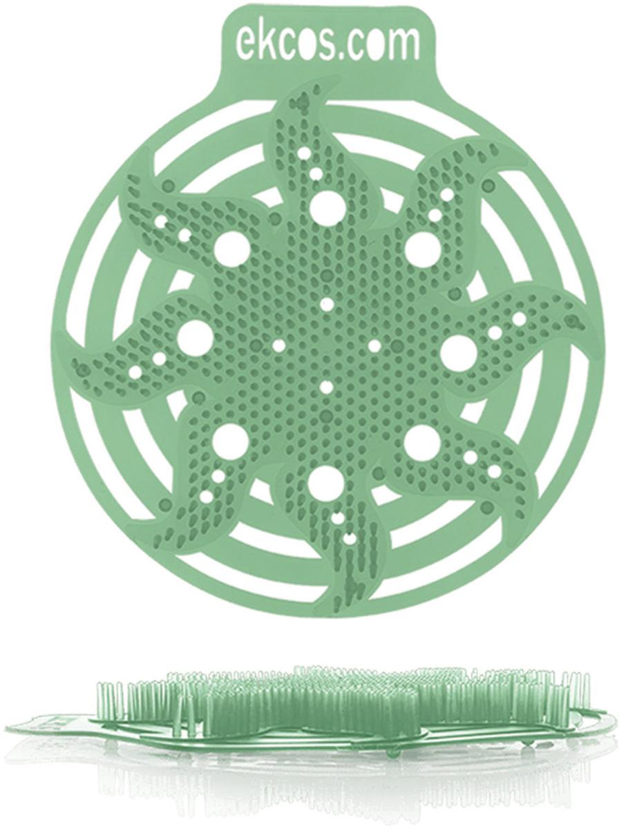 """Коврики-вставки для писсуара Ekcos """"Сосна"""", цвет: зеленый, 2 шт. 604661"""