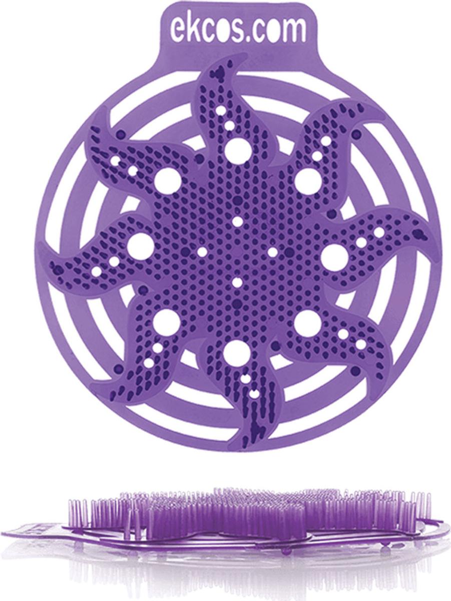 """Коврики-вставки для писсуара Ekcos """"Ягода"""", цвет: пурпурный, 2 шт. PWR-1P"""