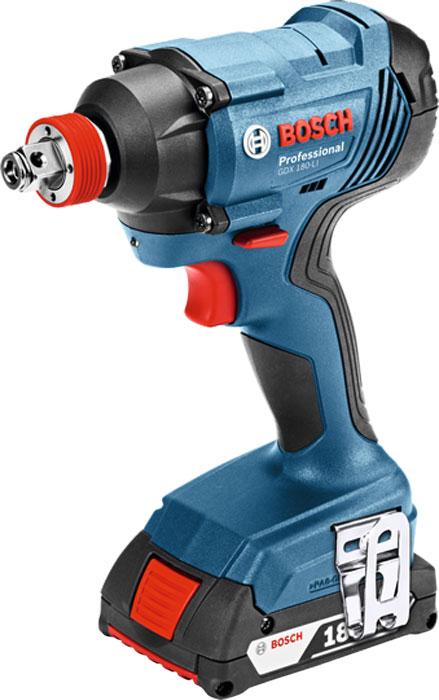 цена на Гайковерт ударный Bosch GDХ 180-Li, 2 х 3 Ач. 06019G5220