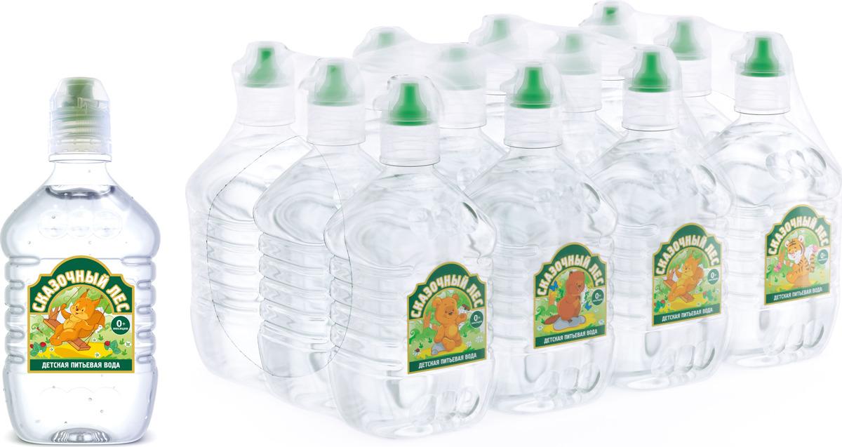 Вода Сказочный лес питьевая детская, 12 шт по 0,4 л вода сказочный лес питьевая детская 12 шт по 0 4 л