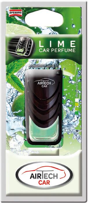 Ароматизатор автомобильный Arexons Лайм, 7 мл1420Ароматизатор Airtech Сar Perfume в виде автопарфюма гарантирует приятную обстановку в салоне Вашего автомобиля. Крепится на рефлекторе печки и гарантирует продолжительное действие. Благодаря постоянной вентиляции, расспространяется свежий аромат Лайм.