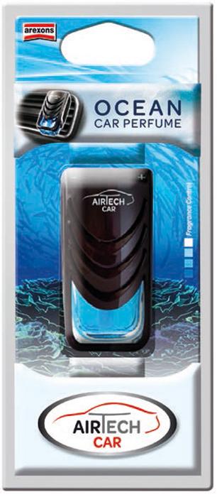 Ароматизатор автомобильный Arexons Океан, 7 мл ароматизатор fresh way drops океан