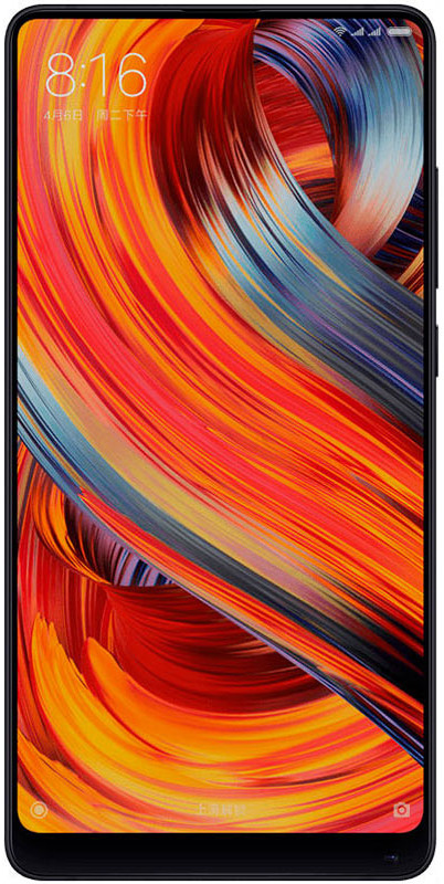 Смартфон Xiaomi Mi Mix 2S 64 GB, черный смартфон oukitel mix 2 64 gb черный