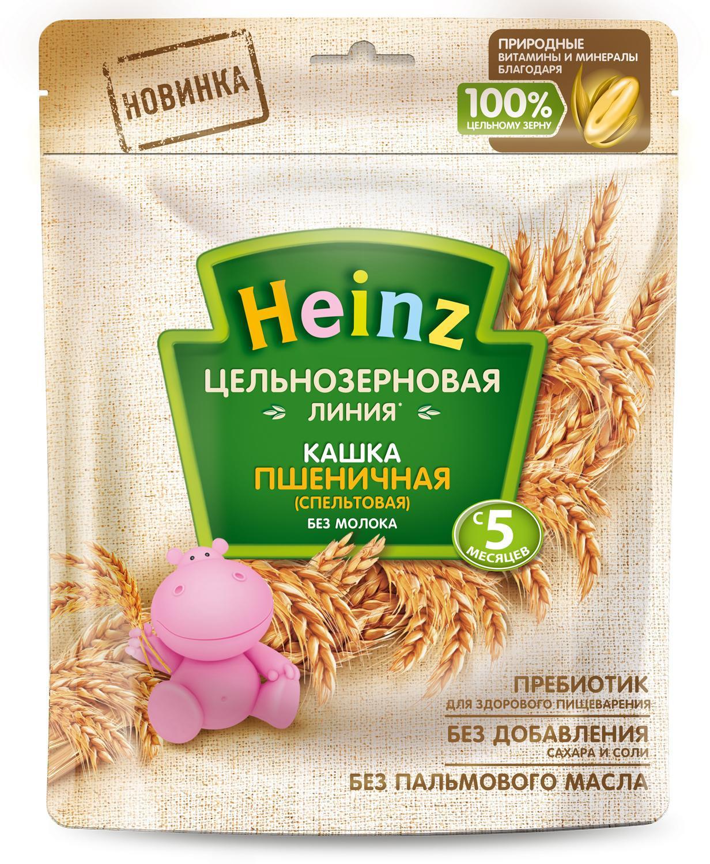Каша цельнозерновая пшеничная с 5 месяцев Heinz, 180 г Heinz