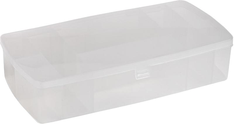 Фото - Ящик для инструмента PROconnect, цвет: прозрачный, 26 х 12 х 5,5 см ящик для инструмента proconnect 32 5 х 28 х 6 см