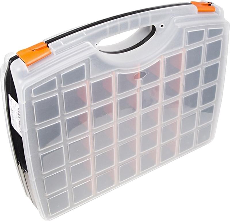 Фото - Ящик для инструмента PROconnect, двойной, 42,5 х 33 х 8,5 см. 12-5021-4 ящик для инструмента proconnect 32 5 х 28 х 6 см