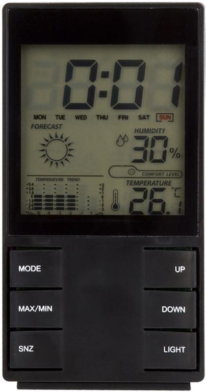 лучшая цена Rexant RX-517 метеостанция комнатная
