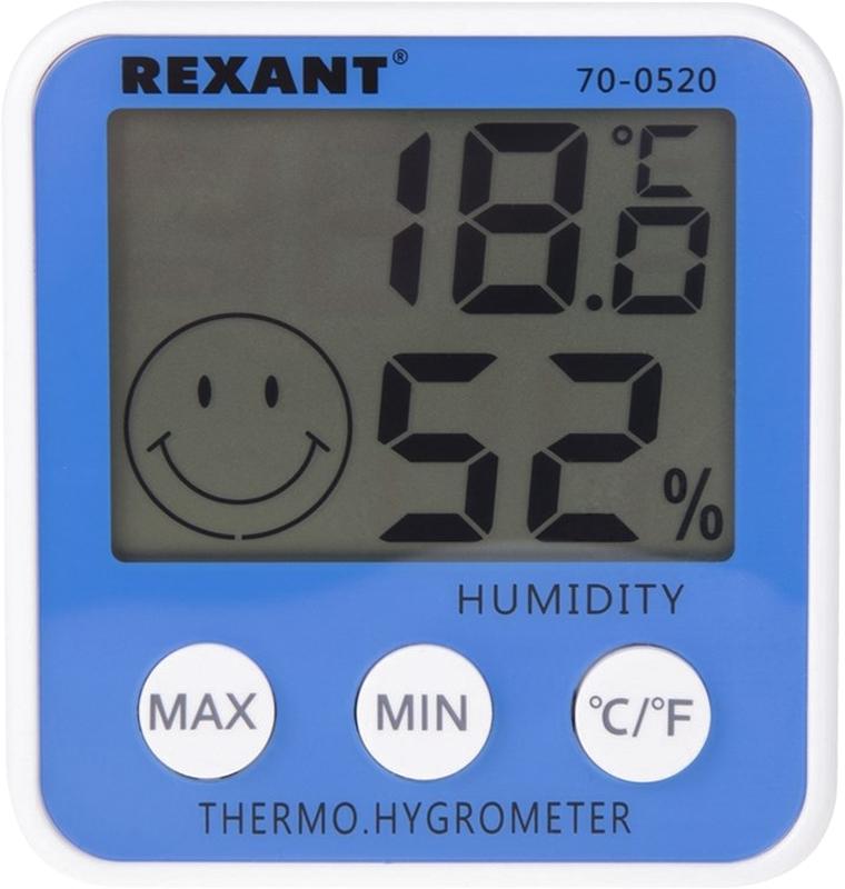 Rexant RX-108 метеостанция комнатная