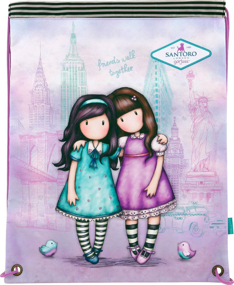 Santoro London Мешок для обуви Cityscape Friends Walk Together santoro london блокнот we can all shine 300 листов