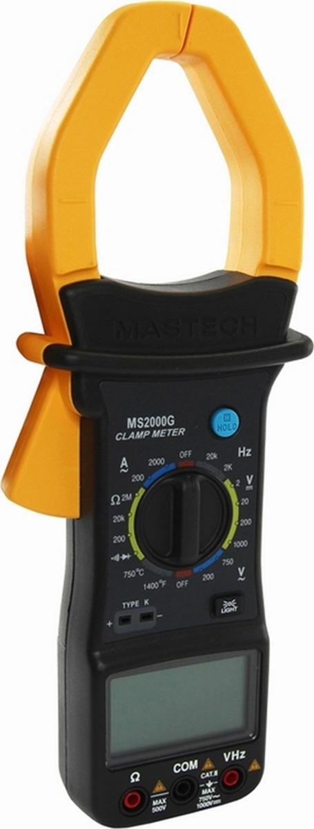 Токовые клещи Mastech MS2000G клещи токовые mastech ms2030