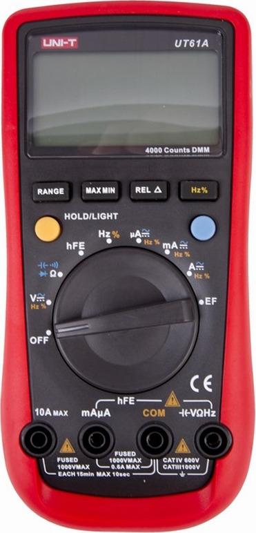 Мультиметр профессиональный Uni-T UT61A