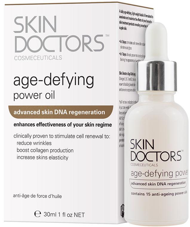 Skin Doctors Age Defying Power Oil Антивозрастное масло для лица интенсивного действия, 30 мл