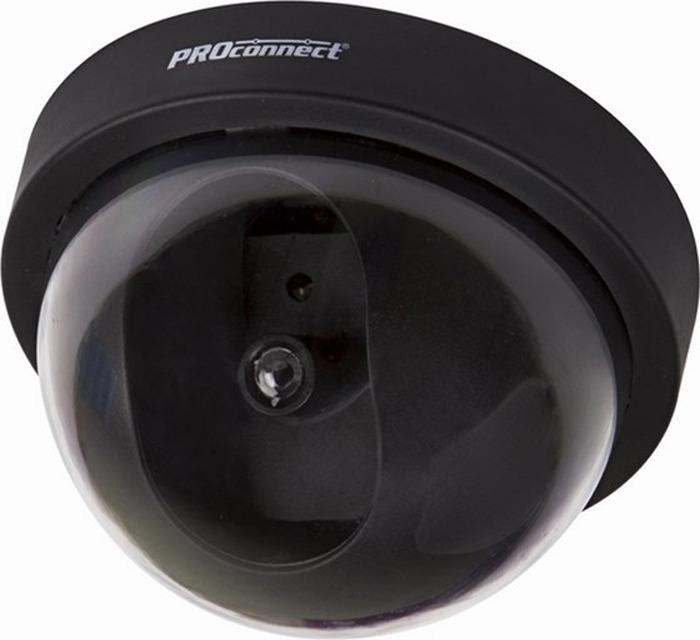 Муляж внутренней камеры наблюдения PROconnect 45-0220, Black муляж камеры видеонаблюдения orient ab dm 25w купольная led мигает для наружного наблюдения