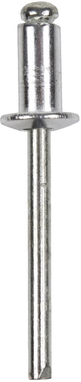 Заклепки Rexant, 4,0 х 6 мм, 50 шт заклепки rexant 4 8 х 14 мм 50 шт