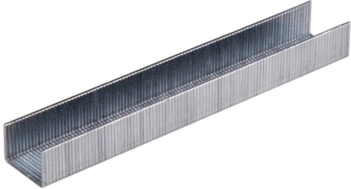 Скобы для строительного степлера Rexant, узкие, 11,3 х 0,7 мм, 8 мм, 1000 шт заклепки rexant 4 8 х 14 мм 50 шт