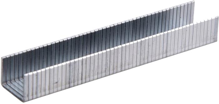 Скобы для строительного степлера Rexant, широкие, 10,6 х 1,2 мм, 8 мм, 1000 шт заклепки rexant 4 8 х 14 мм 50 шт