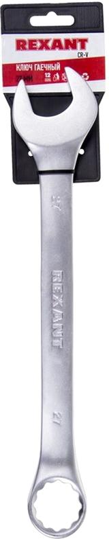 "Ключ комбинированный ""Rexant"", 27 мм"